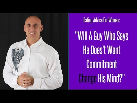 Dating advice for women and commitment issues