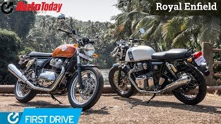 Royal Enfield Twins 650CC - Interceptor & Continental GT | First Ride |  AutoToday