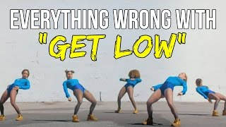 "Everything Wrong With Dillon Frances - ""Get Low"""