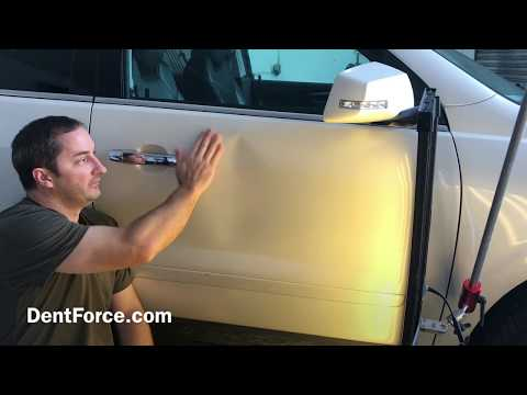 Huge Chevy Dent Repair in Merritt Island, Cocoa, Melbourne, Palm Bay, Titusville, and Brevard County