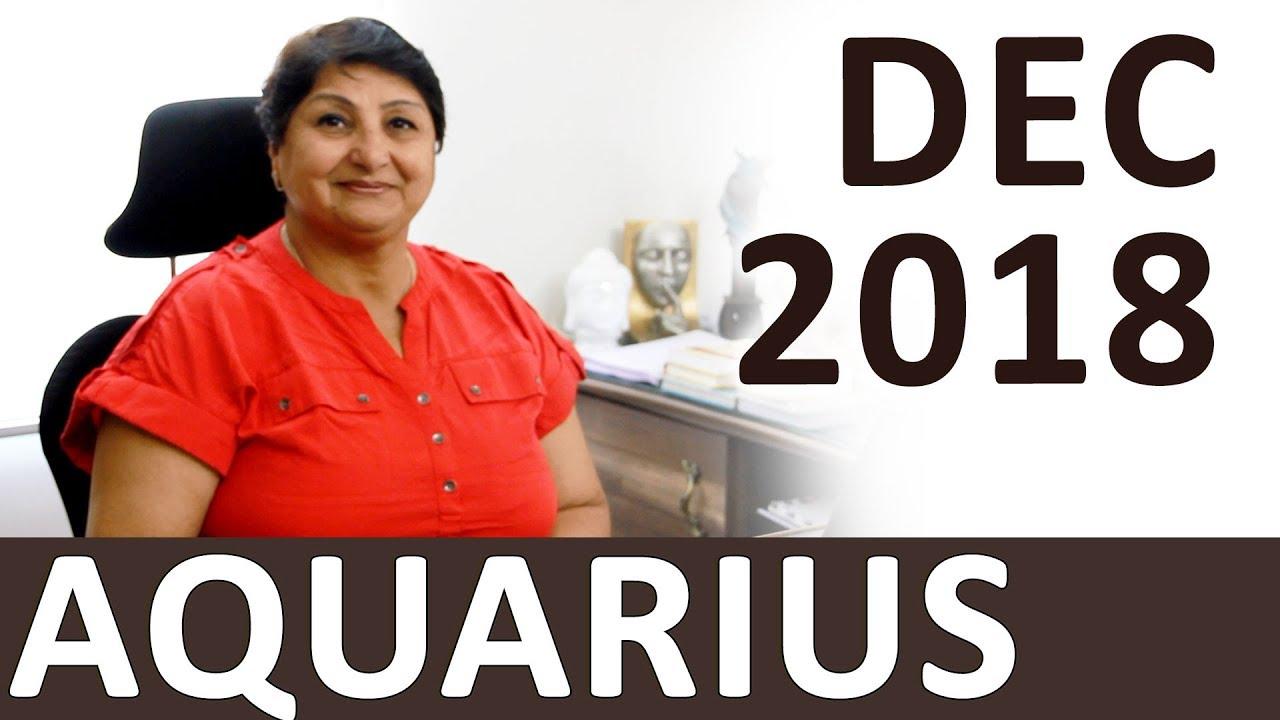 Aquarius Dec 2018 Horoscope: Socialize For Career – Appearance Important -  Communicate Correctly
