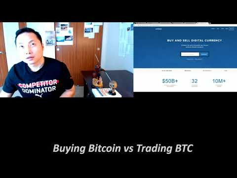 Buying Bitcoin vs Bitcoin Trading
