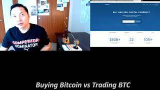 Buying Bitcoin vs Bitcoin Trading