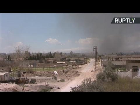 La situation dans le corridor humanitaire dans la Ghouta orientale