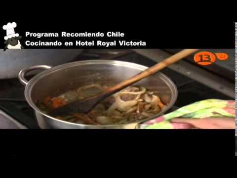 Recomiendo chile cocinando en hotel royal Victoria