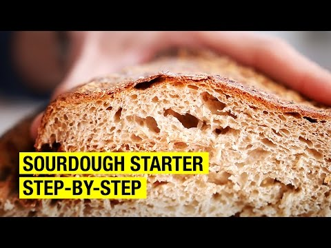 A Frenchmans Guide to Making Sourdough Starter