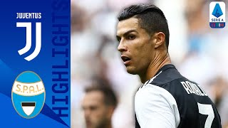 Juventus 2 0 Spal | Ronaldo Header & Pjanić Strike Win The Game For Juve | Serie A