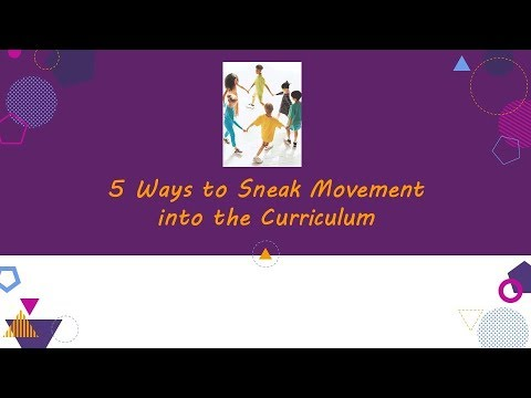 Five Ways to Sneak Movement into the Curriculum - YouTube