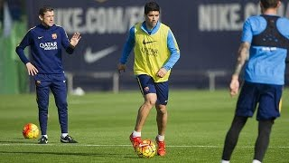 FC Barcelona training session: First week of preparation over