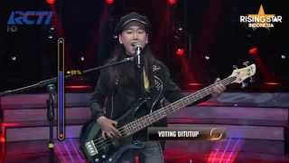 "Chyntari Nindya ""Spiderwebs"" No Doubt - Rising Star Indonesia Eps 7"