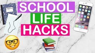 LIFE HACKI do szkoły które MUSISZ znać! BACK TO SCHOOL | Dochi