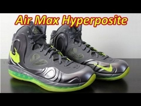 Nike Air Max Hyperposite - Review + On Feet - YouTube 62b7086b4