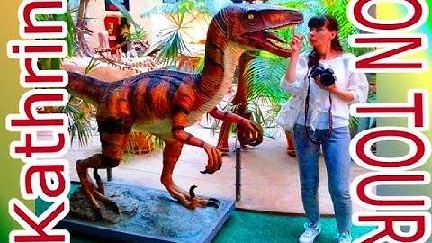 Kathrin on Tour - im Sauriermuseum Aathal / Schweiz