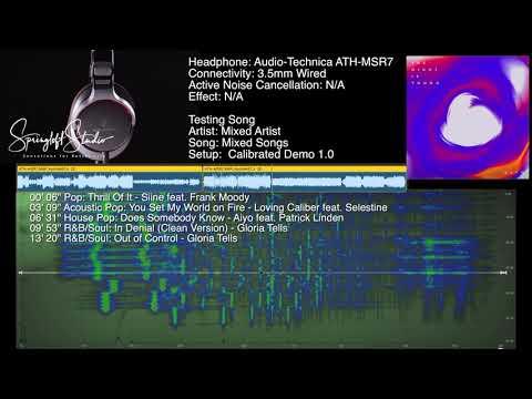 Audio-Technica ATH-MSR7 Sound Demo