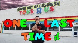 Visiting TOYS R US Before They Close Forever - (Employee SPEAKS OUT!)