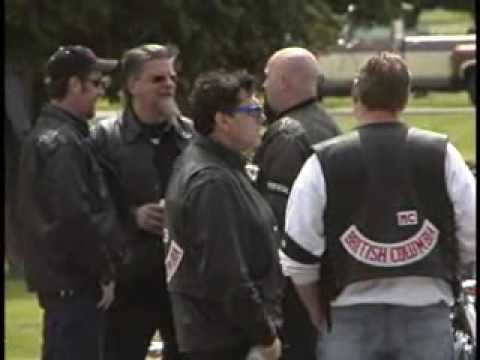 Hells Angels Funeral Ocean View Cemetery Burnaby BC Canada