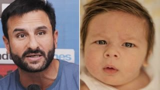 Saif Ali Khan was almost going to CHANGE son Taimurs NAME !
