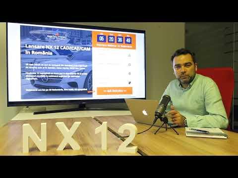 Webinar Lansare Siemens NX 12 CAD CAE CAM în Romania