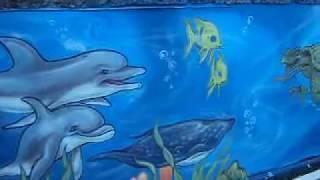 vuclip Desenho Fundo do Mar (pintura em parede) by Juan Faria
