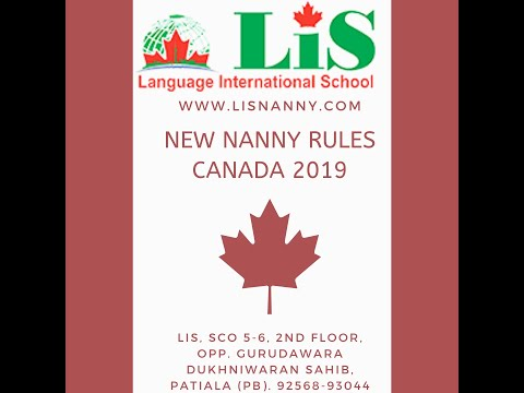 Nanny/Caregiverjob Requirement For Work Permit In Canada
