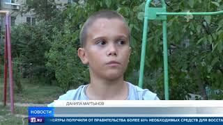 В Волгограде школьник снял с высокого дерева котенка