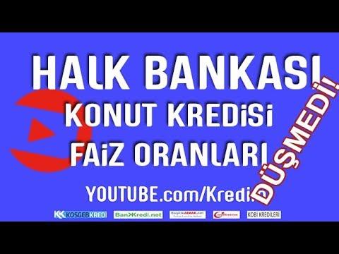 Halkbank konut kredisi faiz oranları ne durumda