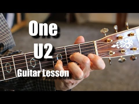 One U2 - Guitar Lesson Example