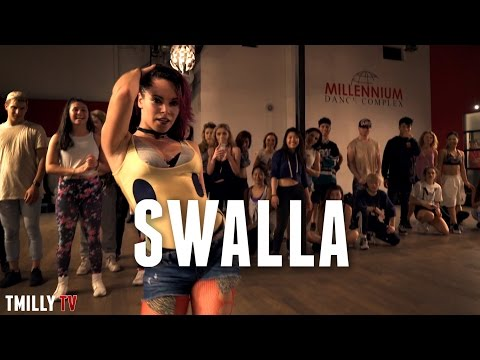 Thumbnail: Jason Derulo - Swalla ft Nicki Minaj - Choreography by Jojo Gomez - ft Kaycee Rice #TMillyTV