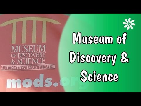 Family Travel - Museum of Discovery & Science, Ft. Lauderdale, Florida, USA