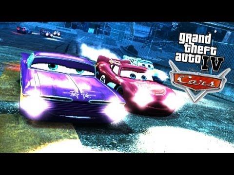 GTA IV - PC - 7/30/13 - Disney 'CARS' Mod Event! - BUSTED!/Races/etc.