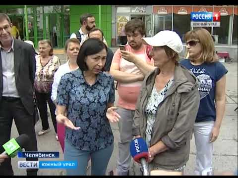 Наталья Котова проверила благоустройство Курчатовского района Челябинска