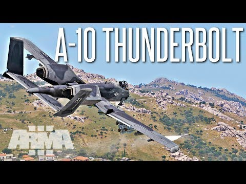 A-10 Thunderbolt II Close Air Support - ArmA 3 Operation
