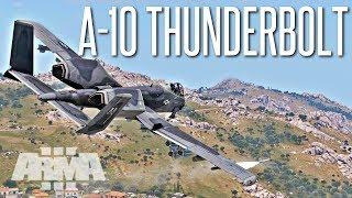 A-10 Thunderbolt II Close Air Support - ArmA 3 Operation
