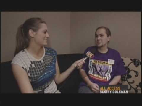 Scotty Coleman's Interview With X-play's Morgan Webb at TGS
