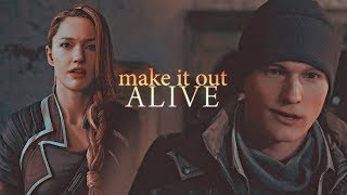» will i make it out alive? (connor x north; detroit become human gmv)