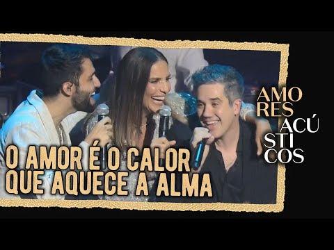Silva Ivete Sangalo e Jota Quest - Do Seu Lado Ao Vivo - Amores Acústicos - 2019