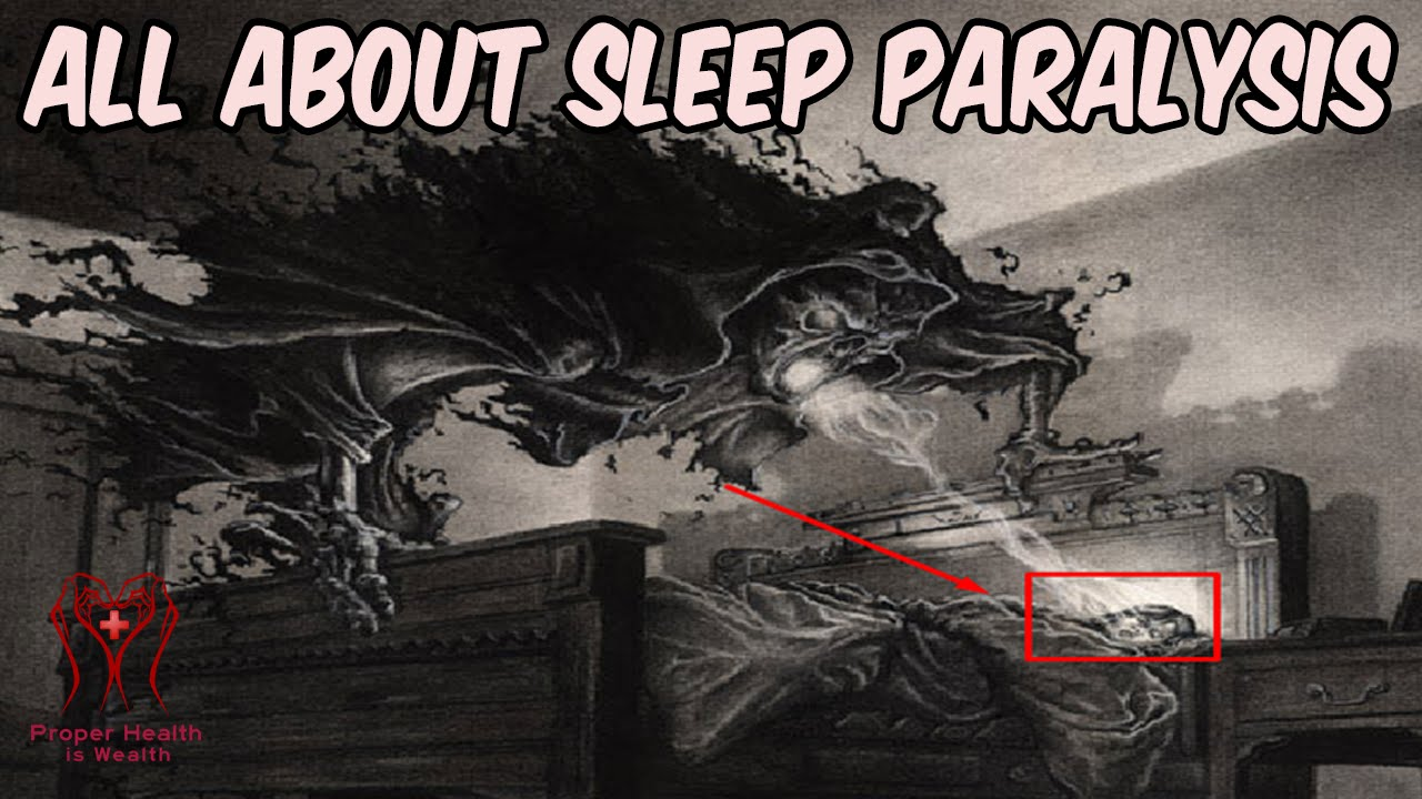 Sleep Paralysis Definition Hag | Examples and Forms