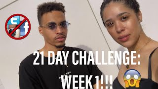 WE GOT OFF SOCIAL MEDIA FOR 21 DAYS! Pt. 1