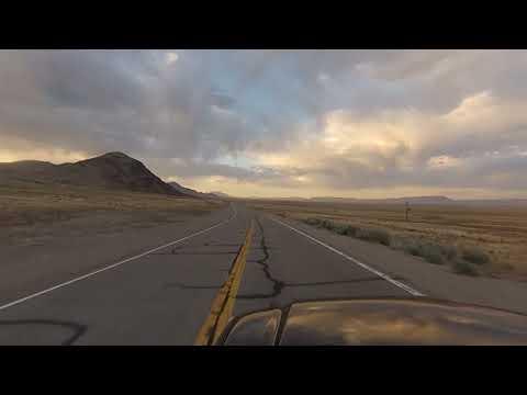 Scenic Drive! US Highway 6, Nevada