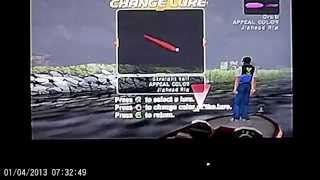 Bass Strike PS2 Game 5 of 6 Have fun and Learn Proper Technique in Hooking BASS