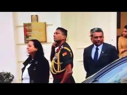 Brigadier Priyankara Fernando, Sri Lankan Army threatens Tamil Protesters in London