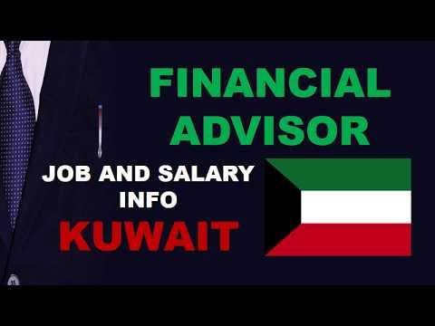 Financial Advisor Salary in Kuwait - Jobs and Salaries in Kuwait
