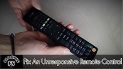 Fixing An Unresponsive Remote Control. Super Easy!