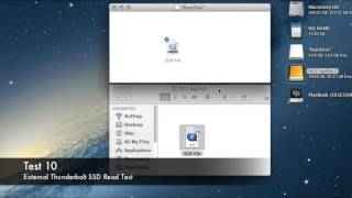 Thunderbolt vs USB 3.0 vs USB 2.0 vs SATA Speed Test SSD / HDD