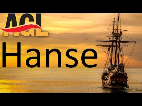 Die Hanse | Hamburg, Rostock, Bremen, Lübeck, Köln #history [learn German][Deutsch lernen]