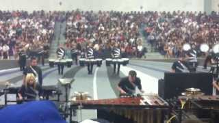 Millennium High School Winter Drumline Assembly Performance