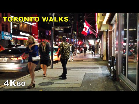 First Walk Of 2020! - New Year's In Downtown Toronto On Yonge St [4K]