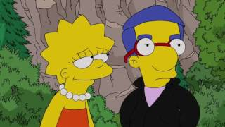 Lisa and Milhouse Romance Evolution