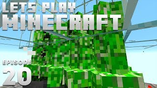 iJevin Plays Minecraft - Ep. 20: CRAZY CREEPER FARM! (1.15 Minecraft Let's Play)