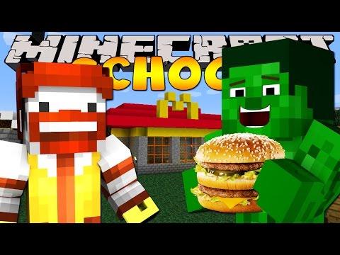 Minecraft School : TRIP TO MCDONALDS!